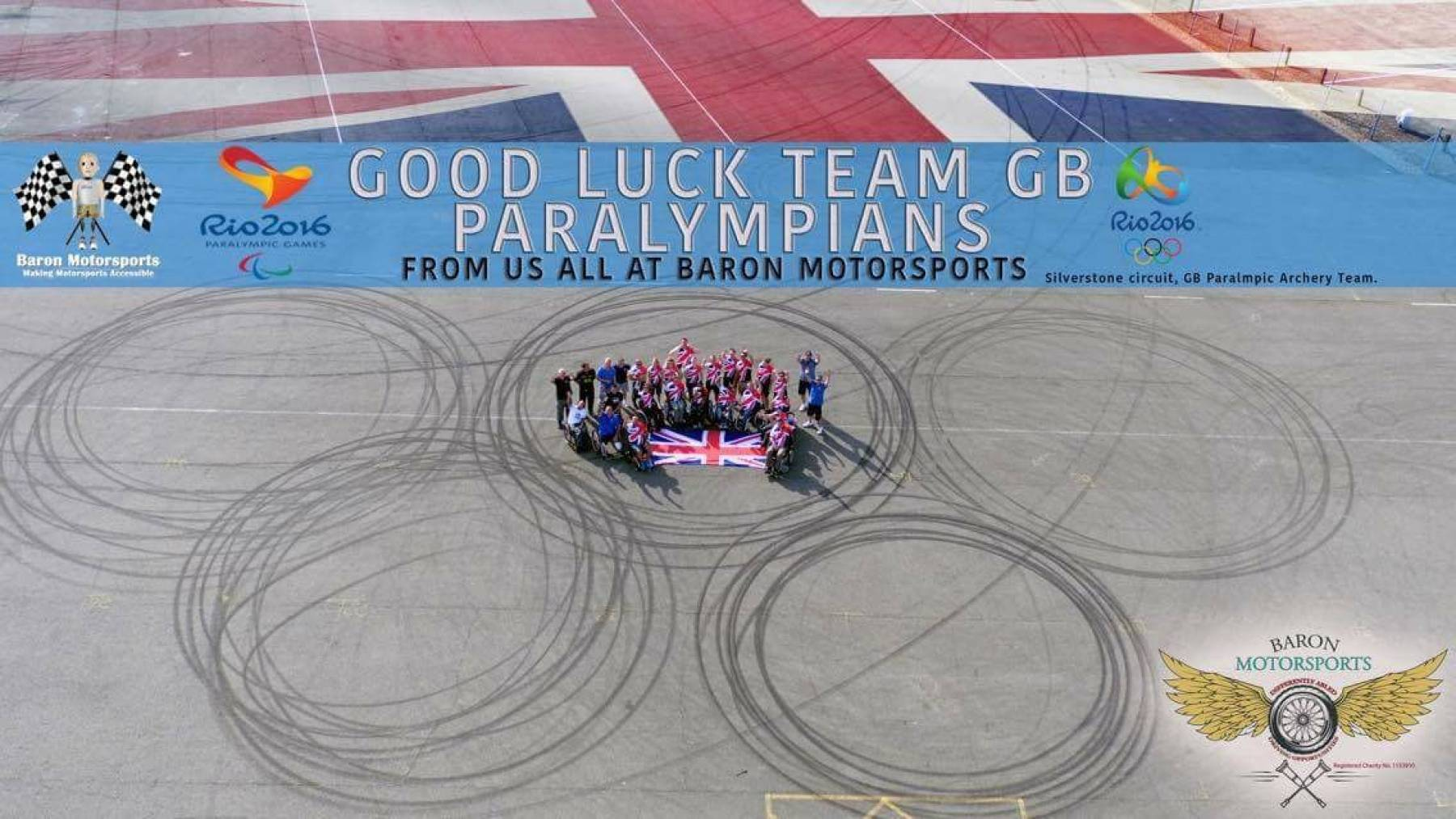 Good Luck to the ParalympicsGB Archery team