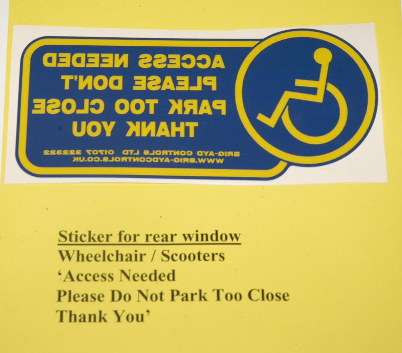 Sticker for Rear Back Window